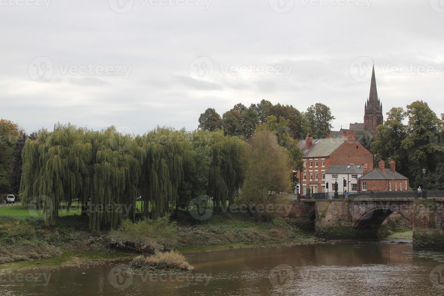 Chester centrum foto