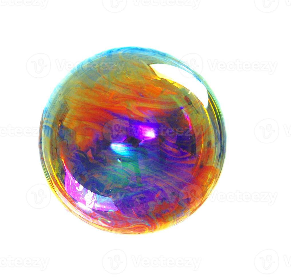 burbuja de jabon foto