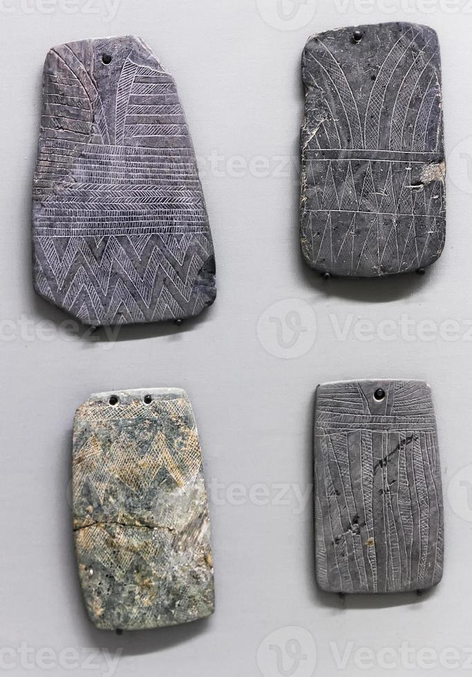 graverade plack - avgudar foto