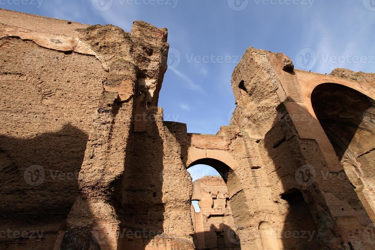 terme di caracalla (caracallabad) i Rom, Italien foto