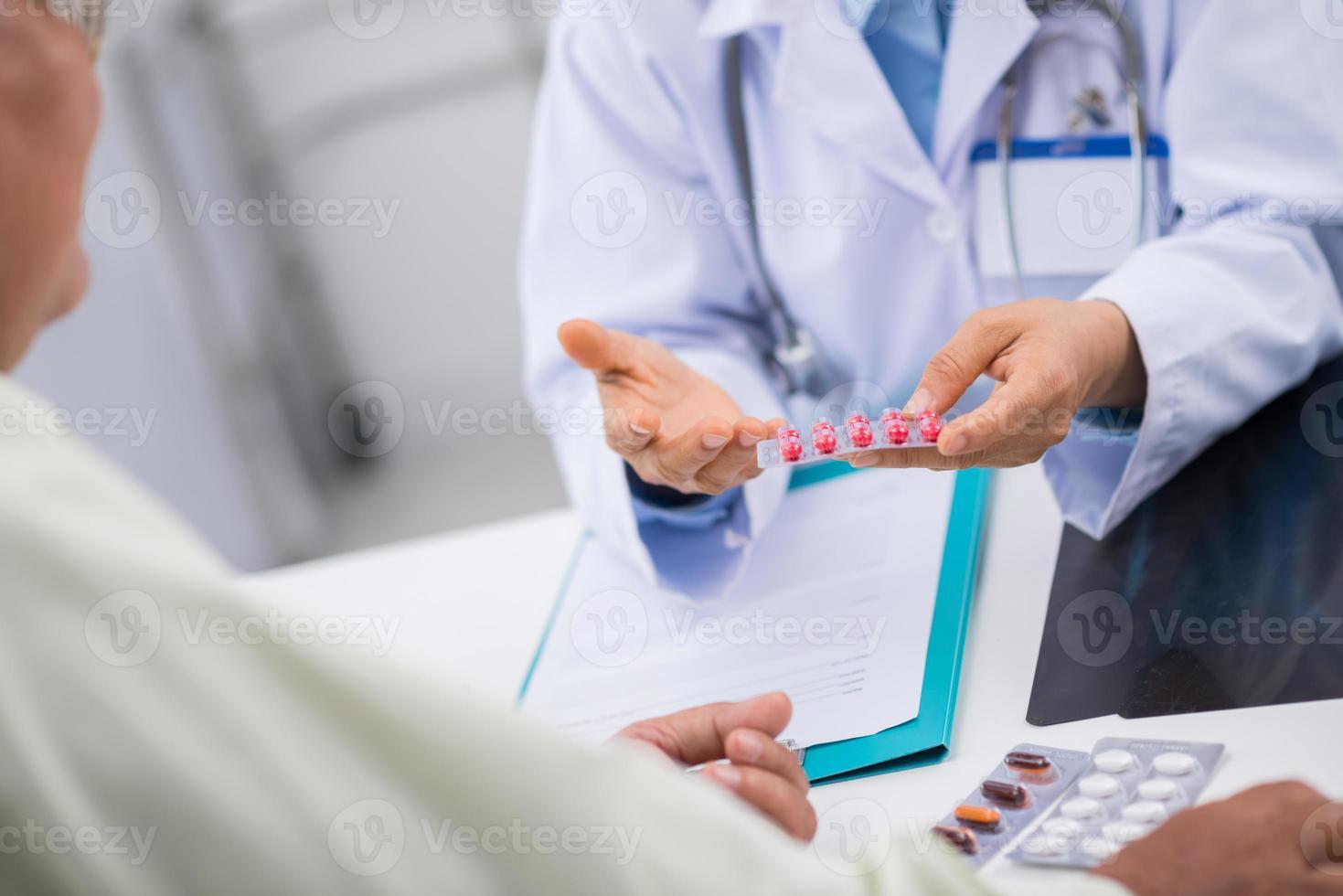 modern medicinering foto