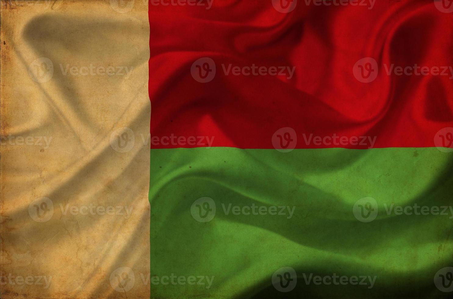 madagaskar viftande flagga foto