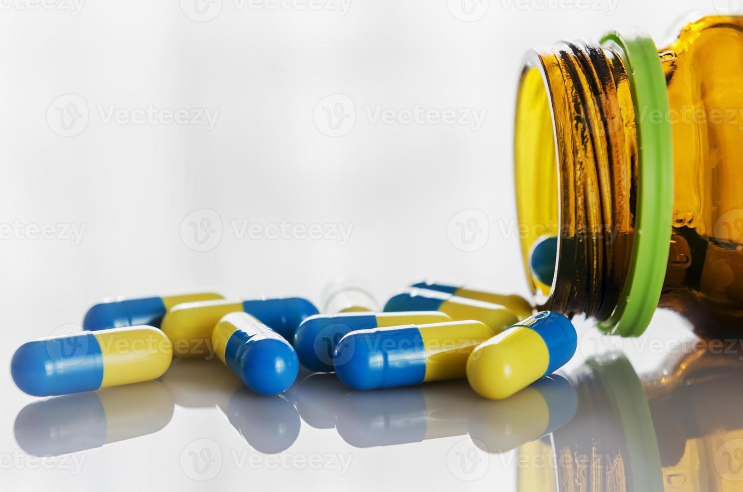 medicin kapsel foto