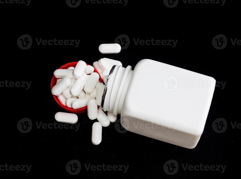 oral medicin, paracetamol foto