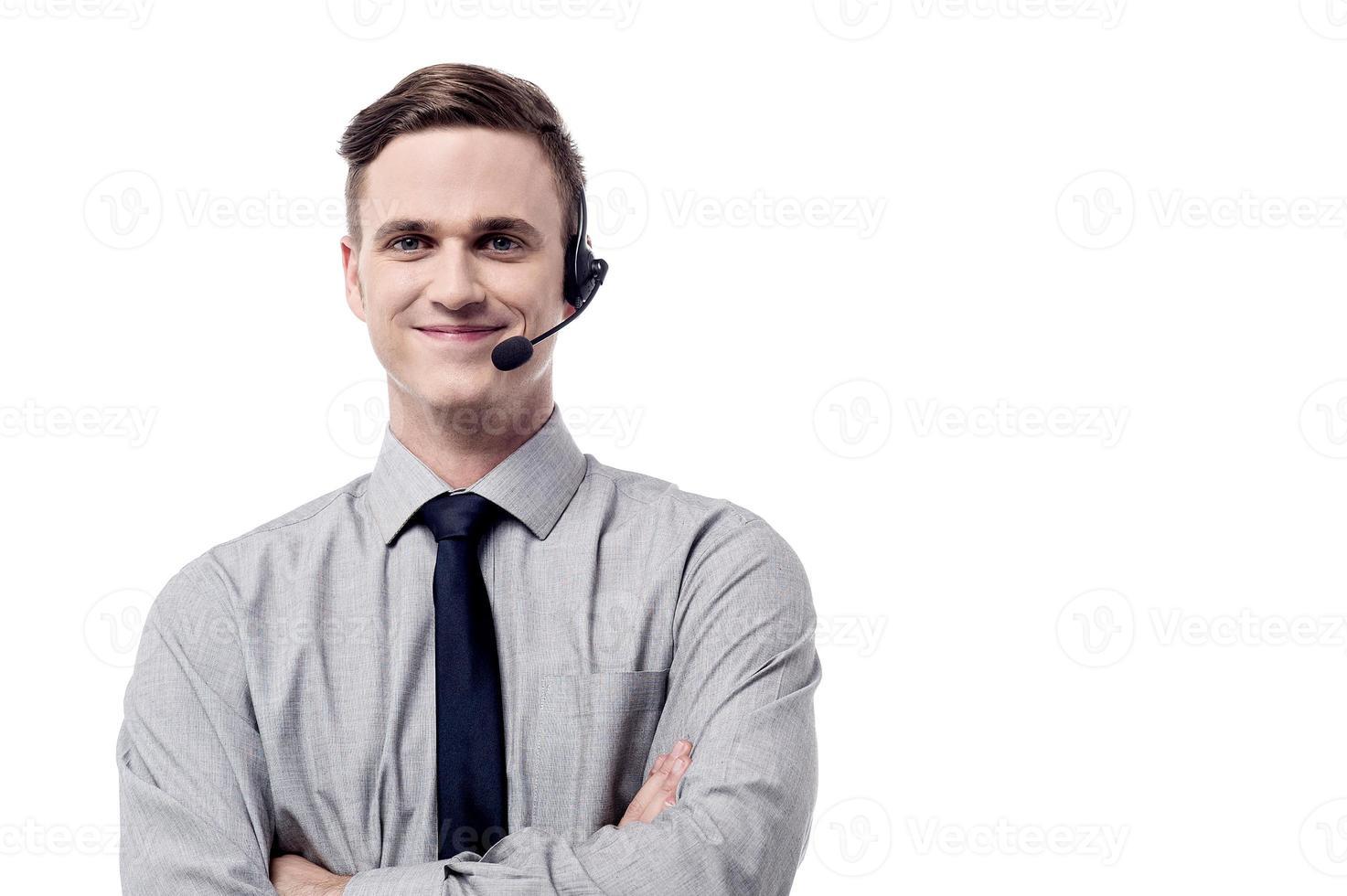 Hallå ! Jag är här för att hjälpa dig! foto