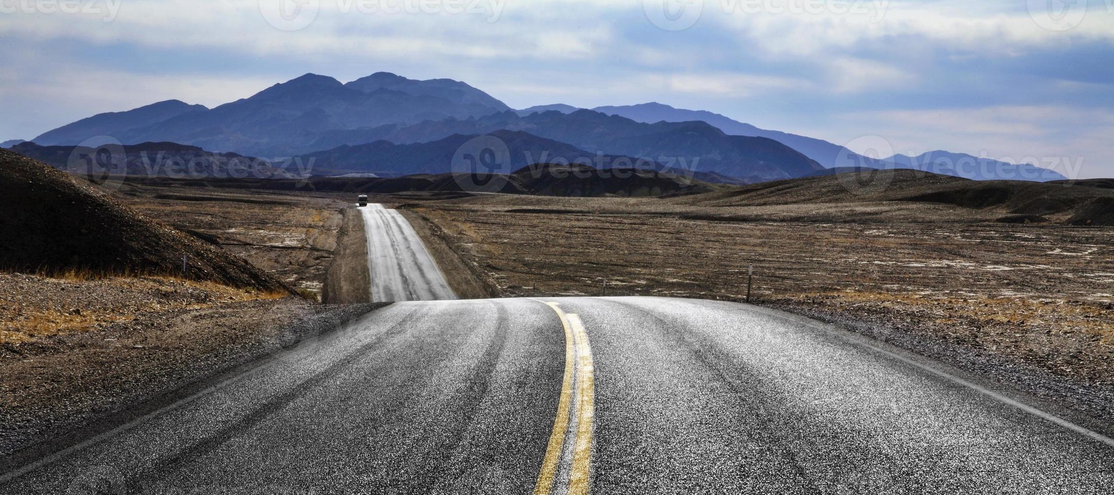 öken motorväg foto