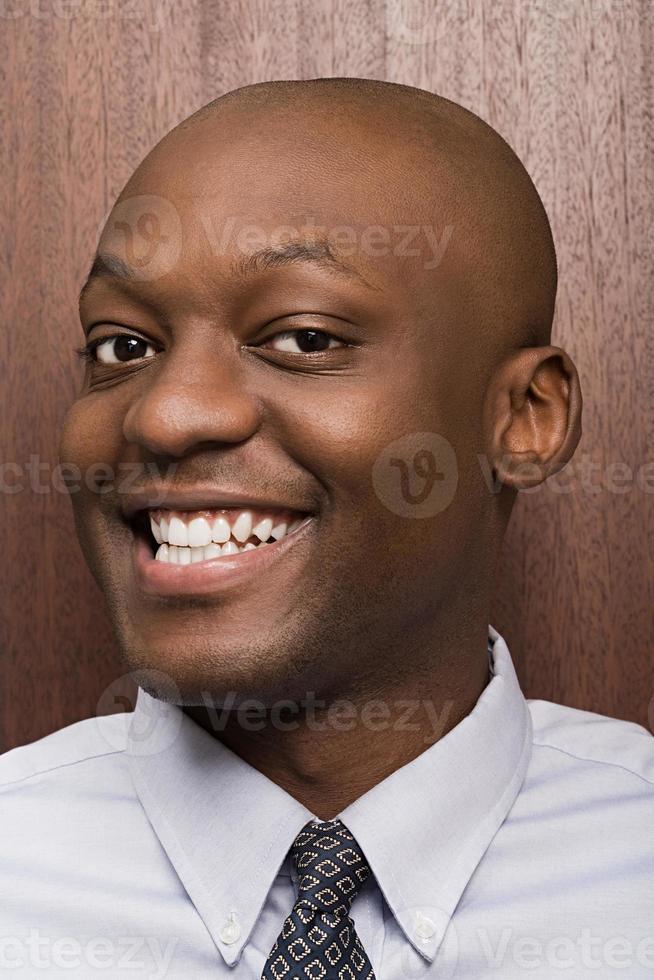 porträtt av affärsmannen foto
