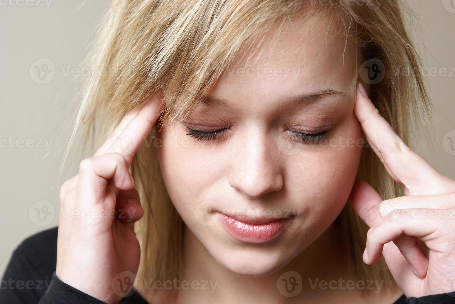 huvudvärk foto