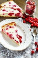 cowberry cake shortcrust bakelse foto
