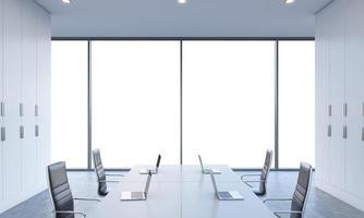 arbetsplatser eller konferensområde foto