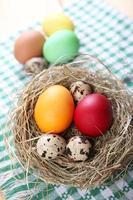 ägg till påsk foto