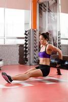 atletisk kvinna foto