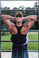bodybuilder träning