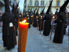 semana santa i Spanien foto