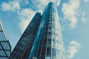 ny kontorsbyggnad foto