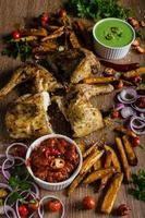 piri piri kryddig kyckling