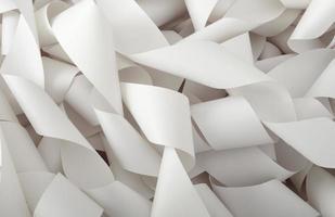 rulle med papper bokföring kontor foto