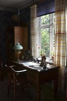 vintage skandinavisk interiör, foto
