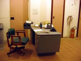 gammal kontorsscene foto