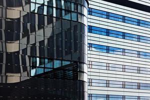 modern finansiell kontorsbyggnad foto