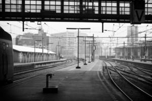 amsterdam tågstation foto