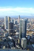 frankfurt skycrapter skyline foto