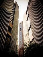 futuristiska finansdistrikt 3 foto