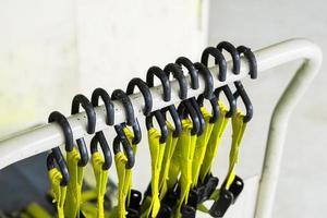 bälte för bandrem, hängande plastlås med snäpplåskrok foto
