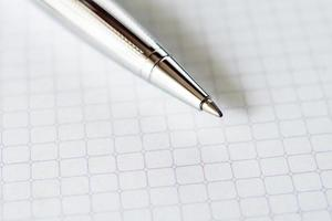 penna närbild foto