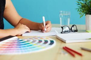 grafisk designer foto