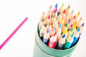 färgpennor foto