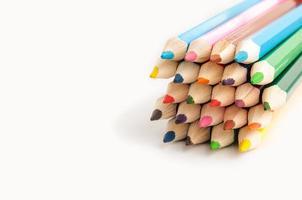 färgade pennor foto