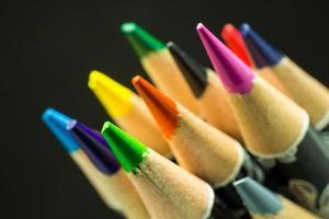 fokus grön färg foto