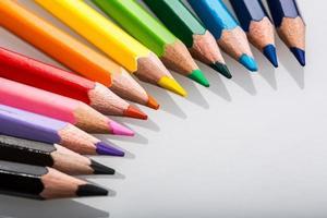 färg penna, stilleben, bilder foto