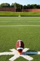 amerikansk fotboll kickoff foto