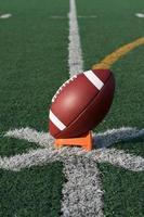amerikansk fotboll startade för kickoff foto