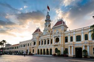 hochiminh stadshus foto