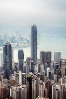 hong kong skyline foto