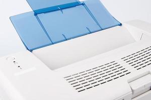 modern laserjet-skrivare foto