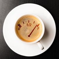 kaffe påfyllning foto