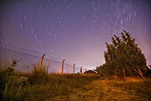 stjärnaxponering foto