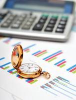 finansiell rapport foto