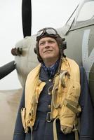 ww2 raf fighter pilot foto