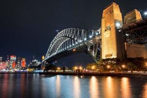 livlig sydney - hamnbron foto
