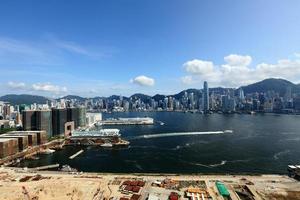 Hong Kong och Kowloon foto