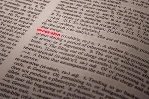 lågkonjunktur - definition i ordboken foto