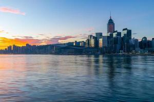 hongkong stadsbild foto
