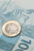 brasiliansk valuta - verklig foto