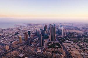 dubai centrum (förenade arabiska emirater) foto