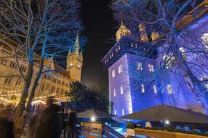 julmarknad i braunschweig foto